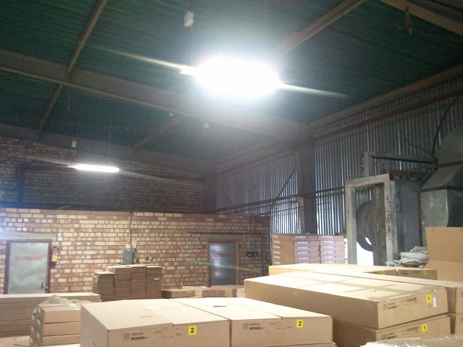 Освещение мебельного производства